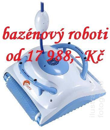 bazénoví roboti